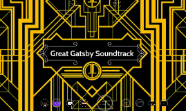 great gatsby soundtrack project