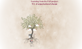 WA learning and organisational change