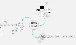 Copy of CAP 105 Lesson 1: Introduction
