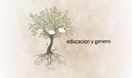 educacion y genero