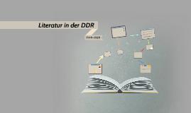 Literatur in der DDR