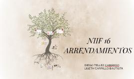 NIFF 16 ARRRENDAMIENTOS