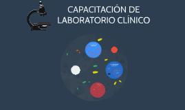 CAPACITACIÓN DE LABORATORIO CLÍNICO
