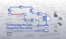 Constructing the Lines Tangent to two circles