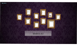 Modern Art Prezi