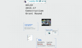 2016-17 Construction Grant Round for OPMs