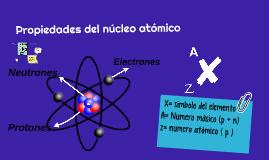 Propiedades del núcleo atómico