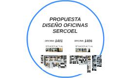 PROPUESTA DISEÑO OFICINAS SERCOEL