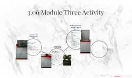 3.06 Module Three Activity