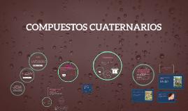 Copy of COMPUESTOS CUATERNARIOS
