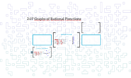 2.07 Graphs of Rational Functions