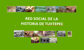 Copy of RED DE LA HISTORIA DE TUXTEPEC