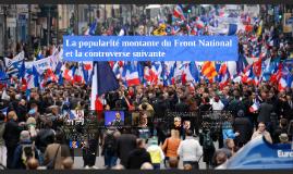 La popularité montante du Front National