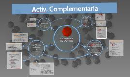 Tec. Educ. II - Activ. Complementari