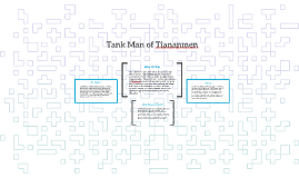 Tank Man of Tiananmen
