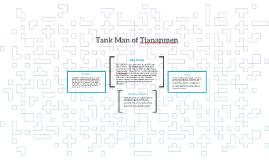Tank Man of Tiananmen