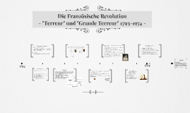 """Terreur"" und ""Grande Terreur"" 1793-1974"