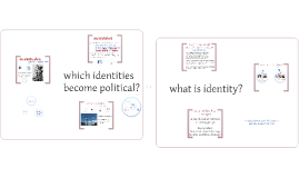 When identities become political