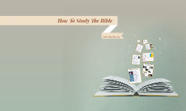 How to Study the Bible # 3