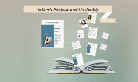 Copy of Author's Purpose and Credibility