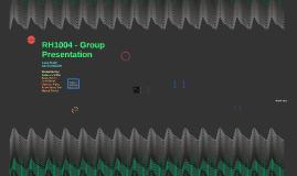 RH1004 - Group Presentation - Cardiovasular