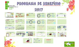 PROGRAMA DE BENEFÍCIO 2017