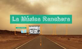 La Música Ranchera