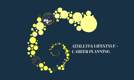 Copy of Copy of ATHLETES LIFESTYLE - CAREER PLANNING