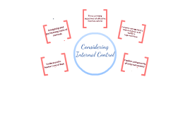 Considering Internal Control