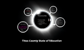 Titus County State of Education