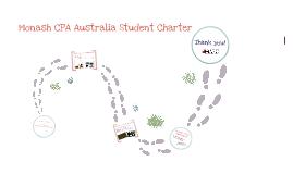 CPA Australia Student Charter