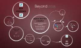 Beyond 2015 evaluation - interactive presentation 16 Feb 2016