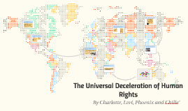 The Universal Deceleration of Human Rights
