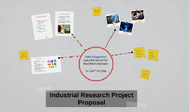 Industrial Research Project Proposal