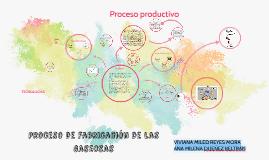 Proceso de fabricación de las gaseosas