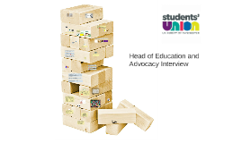 UMSU Head of Education and Advocacy Interview