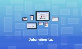 Determinantes Cores