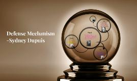 Copy of Defense Mechanism