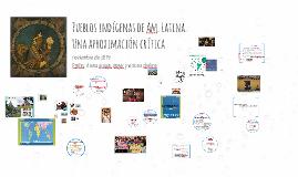 La cuestión indígena en Am. Latina
