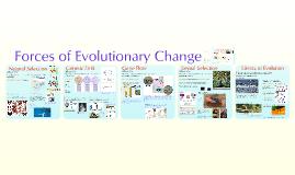 Copy of AP Bio- Evolution 2:  Evolutionary Forces