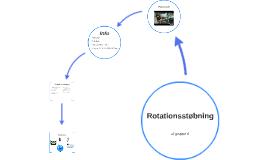 Rotationsstøbning