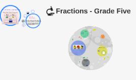 Fractions - Grade Five