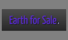 Copy of Earth for Sale