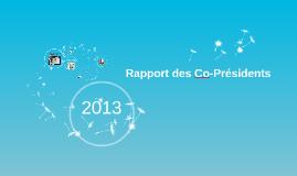 Copy of Rapport des co-présidents