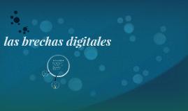 las brechas digitales