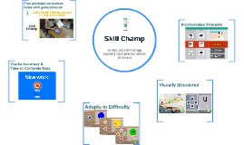 Skill Champ - iPad app based on best practice autism strate