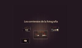 Los comienzos de la fotografía