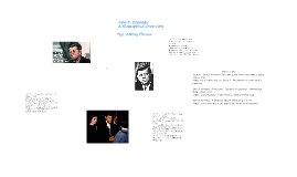 John F. Kennedy; A Biographical Overview