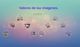 Valores de las imágenes