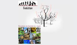 Évolution et Diversité du vivant - première partie